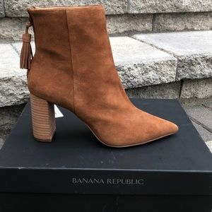 Banana Republic Suede Ankle Boot